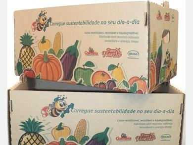 Imagem do case Caja Retornable para sustituir las bolsas plásticas