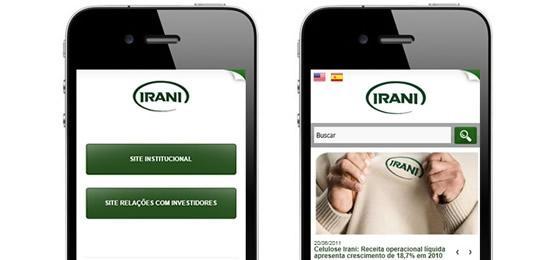 IRANI lança portal Mobile